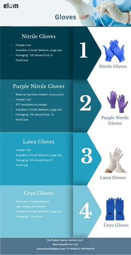Laboratory Disposable Hand Gloves