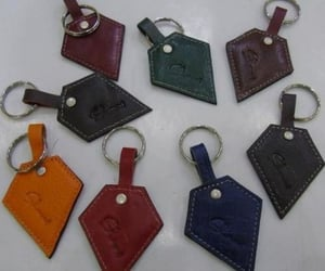 Ass L Leather Keyrings
