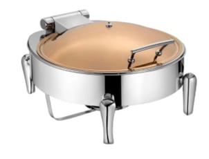 Round Stainless Chafing Dish