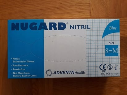All Colors Nugard Nitrile Disposable Medical Hand Gloves