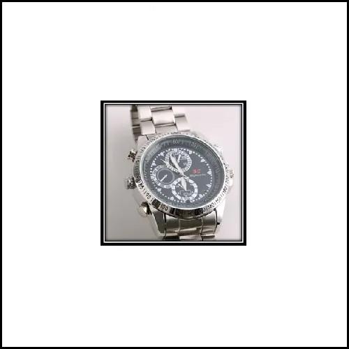 Round Dial Wrist Watch