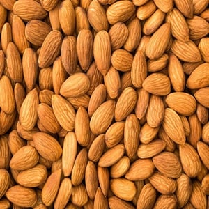 Brown Raw Almond Nuts