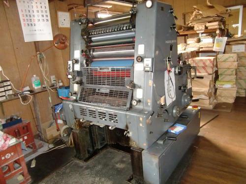 Heidelberg Gto 52 Used Offset Printing Machine