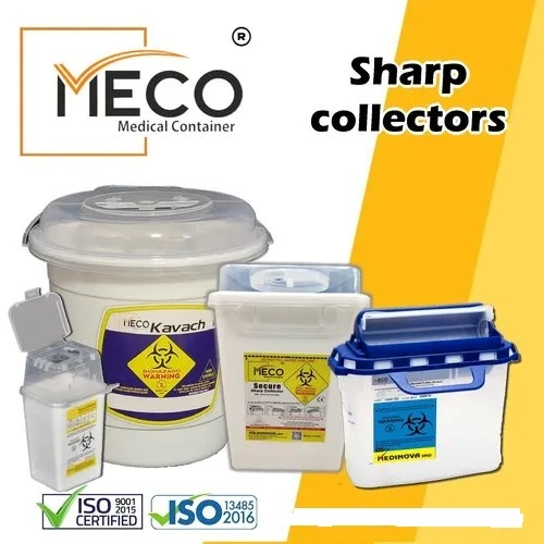 Meco Sharp Medical Container