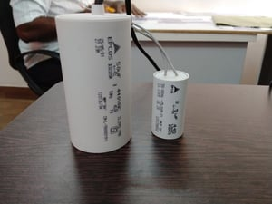 Electrical Fan Capacitor 2.5MFD