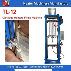 TL-12 Tube Filling Machine For Cartridge Heaters