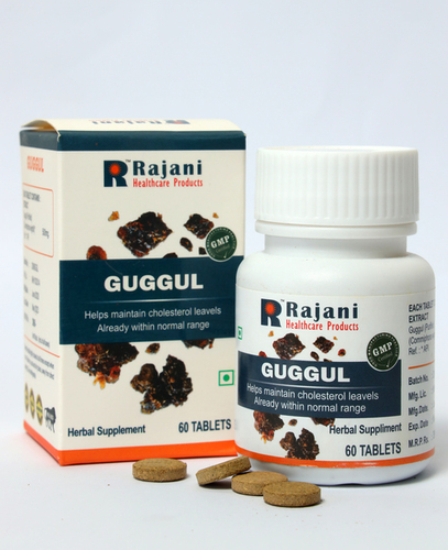 Ayurvedic Guggul Tablet For Healthy Weight And Lipid Level Management
