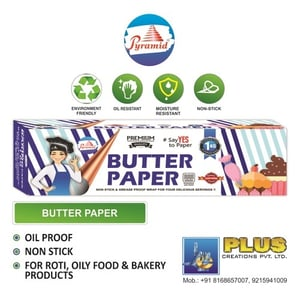 Pyramid Butter Paper 1 Kg Roll