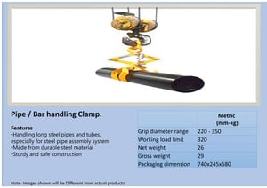High Strength Pipe Lifters