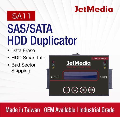 Jetmedia SA11 18g/Min SAS Server Hard Drive SSD, NGFF/mSATA Eraser Duplicator