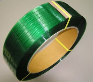 Green Color PET Box Packing Straps