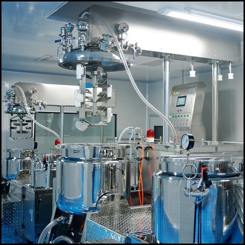 Aloe Vera Gel Processing Unit