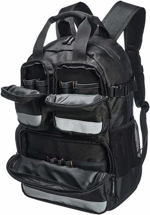Tool Bag Backpack for Electrician, Plumber, Technician