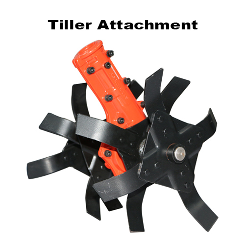 28mm Tiller Attachment 9 Spline For Brush Cutter (Made In India)
