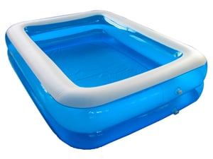 Blue Color Inflatable Pool