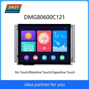 DWIN 12.1inch 800*600 Intelligent UART TFT LCD Display with Control Board+Touch Screen+Software+Program DMG80600C121