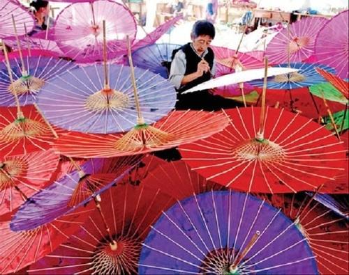 Japanese Umbrella With Attractive Design