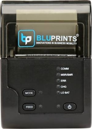 BluPrints Bluetooth enabled Mobile Thermal Receipt Printer (2 Inch/58MM)