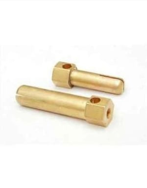 Polished Brass Electrical Pin