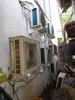 Air Conditioning With Low Power Consumption