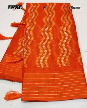 Casual Wear Sarees with Blouse