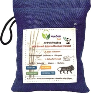 Activated Bamboo Charcoal Air Purifying Bag Deodorizer and Dehumidifier