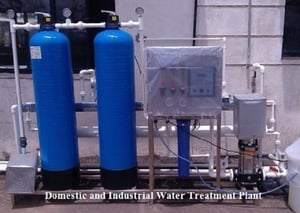 Domestic and Industrial Water Treatment Plant