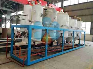 Professional Oil Refining Machine for Small Capacities