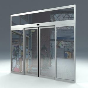 Automatic Sliding Door For Residential and Offices Building
