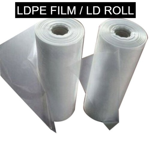 Plain Design LDPE Film Sheet Roll For Packaging Uses