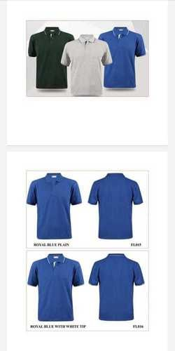 Collar Type T-Shirt for Corporate and Industrial Uniforms