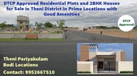 DTCP Approved Residential Plots and 2BHK Houses Selling Service