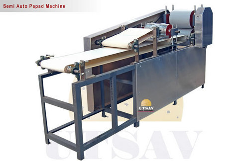 Automatic Papad Machine