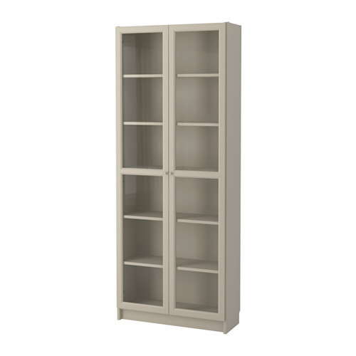 Bookcase And Glass Door Cabinets
