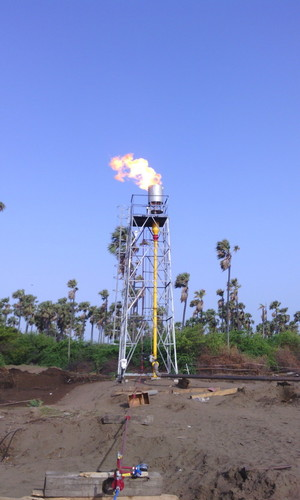 Open Flare System