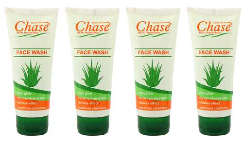 Chase Aloe Vera Face Wash Gel ( Set Of 4 Pcs ) Age Group: 10-65