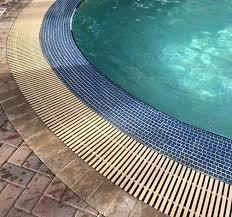 Swimming Pool Grating System