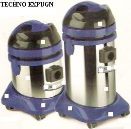 Industrial Vacuum Cleaners S.S. BODY Trolley Type With HEPPA Filters