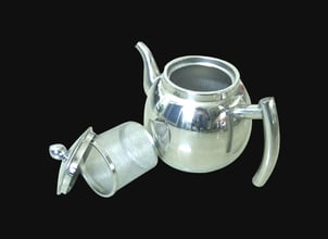 Coffee Pot with Strainer