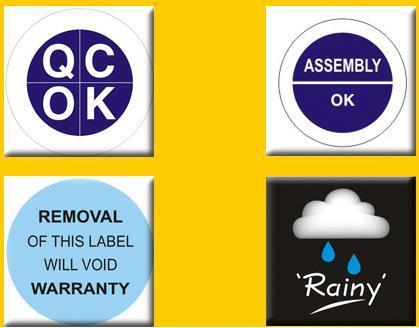 Destructive Stickers