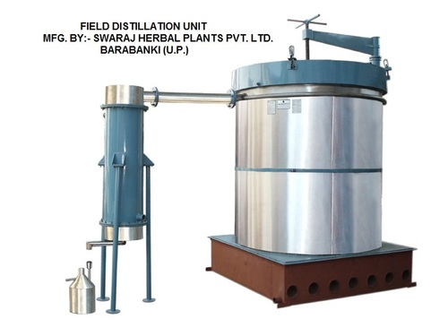 Manual Essential Oil Field Distillation Unit