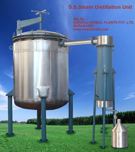 Steam Distillation Unit Capacity: Customized Liter (L)