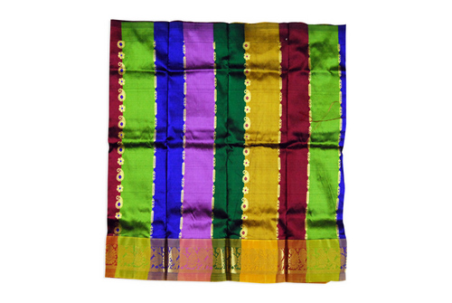 Silk Pavadai Multicolour Saree