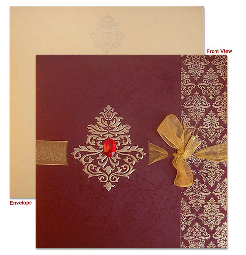 designer muslim wedding cards - Muslim Wedding Cards