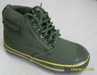 Mens Military Canvas Shoes