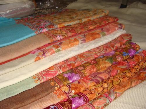 Kashmiri Silk Shawl