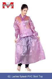Ladies Splash PVC Skirt Top