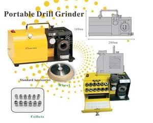 High Efficiency Portable Drill Grinder