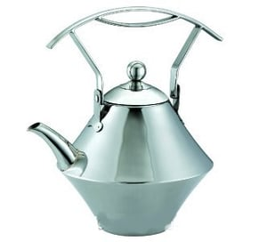 Stainless Steel Teapot With Tea Strainer