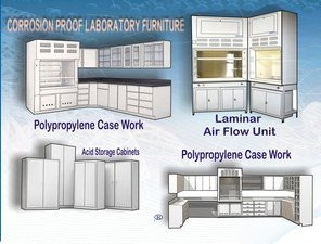 Corrosion Proof Laboratory Furniture